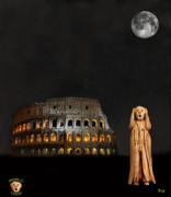 Ancient Rome Mixed Media - The Scream World Tour Rome by Eric Kempson