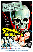 1950s Movies Photo Posters - The Screaming Skull, 1958 Poster by Everett