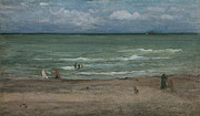 Sea Shore Framed Prints - The Sea Framed Print by James Abbott McNeill Whistler