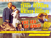 Films By Elia Kazan Prints - The Sea Of Grass, Spencer Tracy Print by Everett