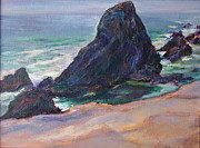 Northwest Paintings - The Seal Rock March by Quin Sweetman
