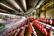 Bleachers Art - The Seats at Martin Stadium by David Patterson