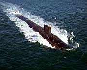 Submerge Photos - The Seawolf-class Nuclear-powered by Stocktrek Images