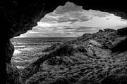 Pitted Photo Prints - The Secret Cave Print by Natasha Bishop