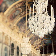 Chandelier Art - The Secret History by Irene Suchocki