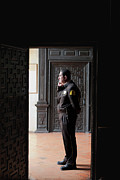Southern Province Posters - The Security Guard Poster by Lorraine Devon Wilke