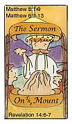 Revelation Drawings - The Sermon by Chayla Dion Amundsen-Noland