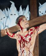 Obama Paintings - The Seven Deadly Sins - Pride by James Perez