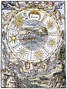 Rowboat Prints - The Seven Planets, 1536 Print by Granger