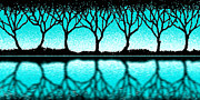 Cristopher Ernest Prints - The Seven Trees Print by Cristophers Dream Artistry