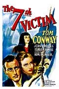 The Seventh Victim, Tom Conway, Kim Print by Everett