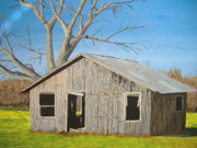 Arkansas Paintings - The Shack by Norm Starks