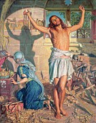 Christ Paintings - The Shadow of Death by William Holman Hunt