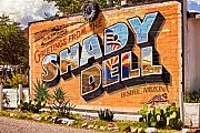 The Shady Dell Bisbee Az Print by Lynn Andrews