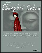 Mystery Prints - The Shanghai Cobra Mystery Novel... Print by Will Bullas