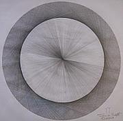 Pi Drawings - The Shape of Pi by Jason Padgett
