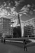 City Hall Prints - The Shard from the Scoop Print by Gary Eason