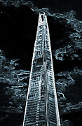 Shard Posters - The Shard London Poster by David Pyatt