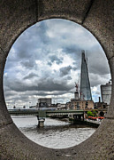 Shard Framed Prints - The Shard London Framed Print by Dawn OConnor