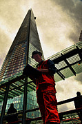 Europe Digital Art - The Shard by Rich Beer