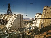 Large Scale Framed Prints - The Shasta Dam Under Construction. It Framed Print by Everett