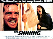 Horror Movies Framed Prints - The Shining, Jack Nicholson, Shelley Framed Print by Everett