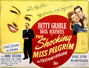 Grable Framed Prints - The Shocking Miss Pilgrim, Betty Framed Print by Everett