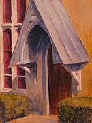 Religious Artist Paintings - The Side Door by Steven Logan