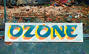Out-of-date Prints - The Sign of the Ozone Print by Steve Taylor