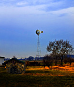 Rural Scenes Digital Art - The Silence of Rural America  by Steven  Digman