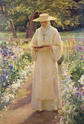 Garden Paintings - The Silent Life by Dora Noyes
