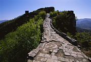 The Great Outdoors Metal Prints - The Simatai Section Of The Great Wall Metal Print by Raymond Gehman