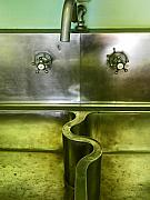 Digital Photos - The Sink by Elizabeth Hoskinson