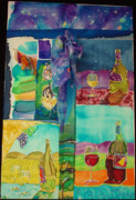 Vineyards Mixed Media - The Sky is Falling by Jill Targer