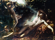 Ann Painting Prints - The Sleep Of Endymion Print by Granger