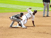 Pittsburgh Pirates Prints - The Slide Print by Chad Thompson