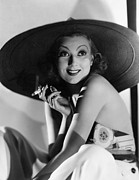 Wide Brim Hat Posters - The Smartest Girl In Town, Ann Sothern Poster by Everett