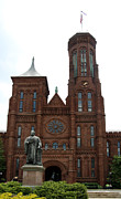 Smithsonian Museum Prints - The Smithsonian - Washington DC Print by Christiane Schulze