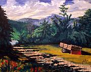 Smokey Mountains Paintings - The Smokies by Jim Phillips