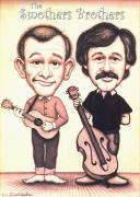 The Smothers Brothers Print by Cristophers Dream Artistry