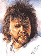 Raiders Paintings - The Snake - Ken Stabler by Kenneth Kelsoe