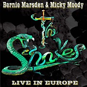 Whitesnake Prints - The Snakes Live in Europe Print by Penny Golledge
