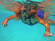 Snorkeling Photos - The Snorkeler by Bette Phelan