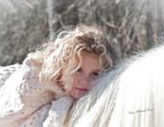 Storybook Prints - The Snow Bunny Print by Terry Kirkland Cook