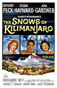 1952 Movies Framed Prints - The Snows Of Kilimanjaro, Susan Framed Print by Everett