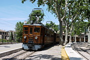 Electric Photo Originals - The Soller Train by John Chatterley