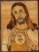 Religious Drawings - The Son of Man by Timothy Mutsembi