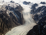 Conditions Posters - The Sondrestrom Glacier In Greenland Poster by Stocktrek Images