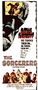1960s Movies Posters - The Sorcerers, Boris Karloff, 1967 Poster by Everett