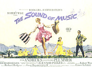 Luggage Framed Prints - The Sound Of Music, Julie Andrews Framed Print by Everett